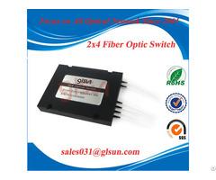 Glsun 2x4 Cascade Fiber Optical Switch