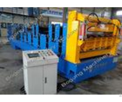 Corrugated Roof Custom Roll Forming Machine Dual Layer High Performance