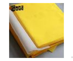 Yellow 100% Monofilament Polyester Screen Printing Mesh For Printingplant
