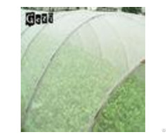 White Polyethylene Insect Mesh Netting For Agricultural Pest Control Of Field