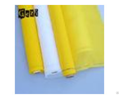 100% Monofilament Yellow Polyester Screen Printing Mesh For T Shirt