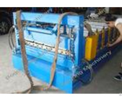 Galvanized Steel Sheet Trapezoidal Roof Panel Roll Forming Machine