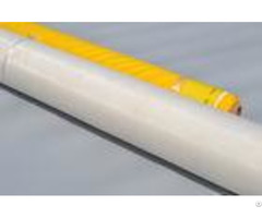 White 100% Monofilament Polyester Screen Printing Mesh For T Shirt
