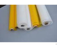 Yellow Nylon Screen Mesh Net 30m 50m For Glassfactory Custom Width