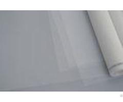 White Nylon Silk Screen Mesh Net Monofilament Wear Resistance With Custom Width