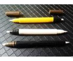 Pp Waterproof Plastic Eyeliner Pencil Airtight Double Head Silk Printing