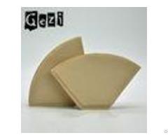 High Wet Strength Coffee Filter Paper 0 65 0 75mm Neutral 300 300mm Width