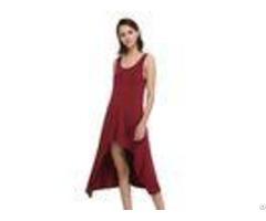 Funky Womens Casual Summer Dresses Hi Low Tank Midi Beach Dress Soft Handfeel