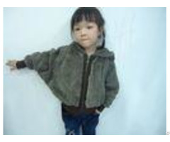 Faux Fur Batwing Sleeve Coat Ribbed Zipper Hooded Little Girls Winter Coats