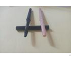 Black Pink Lipstick Pencil Packaging Beautiful Shape Abs Plastic Material