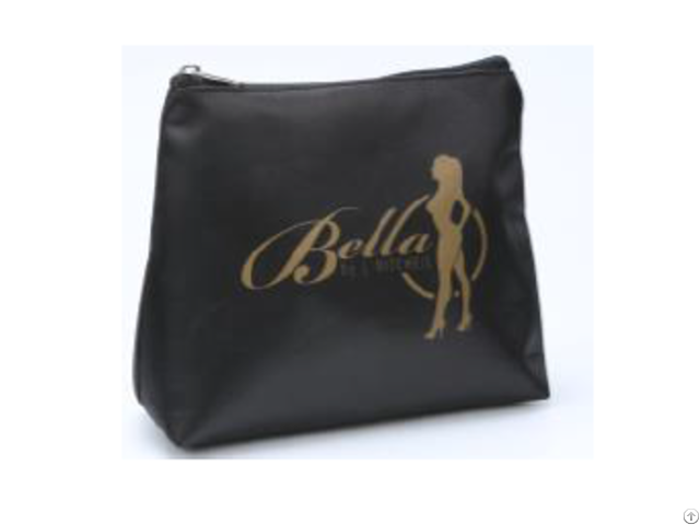 Black Small Cosmetic Bag