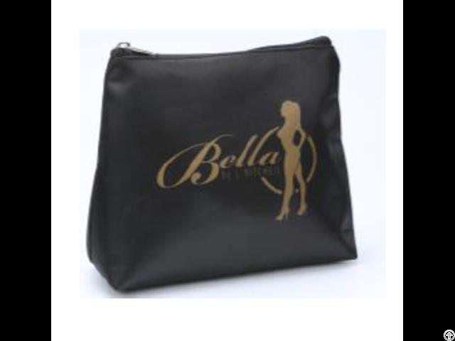 Black Small Cosmetic Bag
