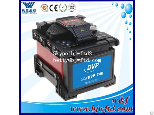 Fiber Optic Equipment Fusion Splicer Dvp 740