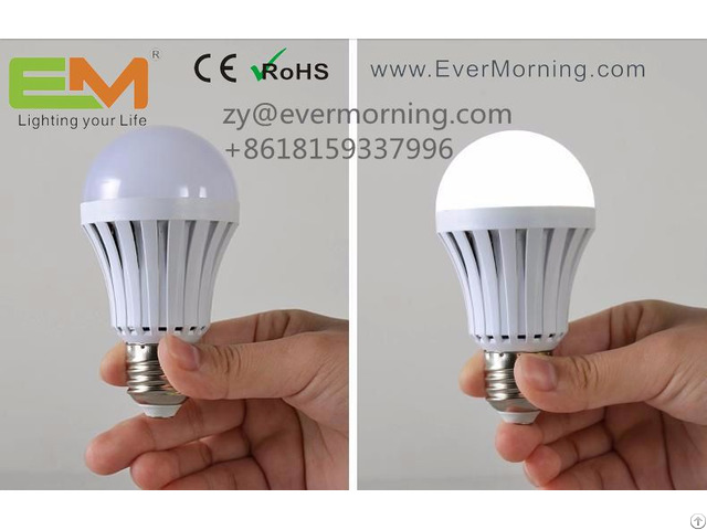 Smart Rechargeable Led Bulb Light With Ce Certificate