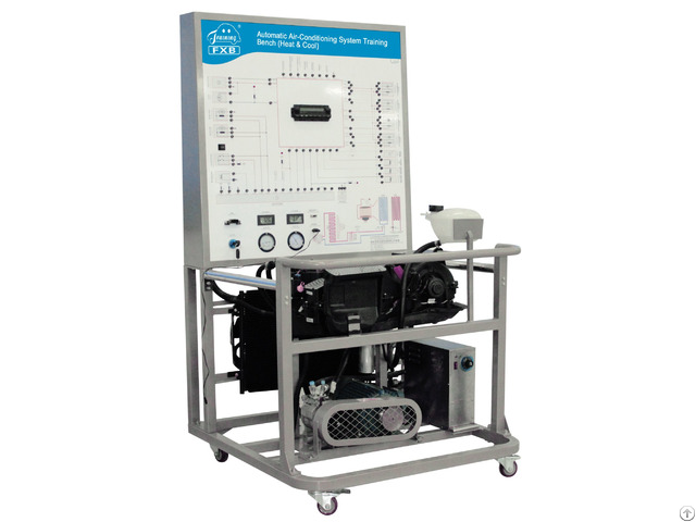 Automatic Air Conditioning System Training Bench Heat And Cool