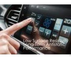 Low Surface Resistivity Anti Static Pet Film For Touch Control Panel Screen Protective