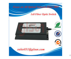 Multi Channel 1x8 Fiber Optic Switch