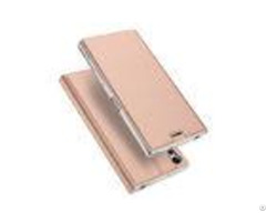 Personal Design Sony Phone Covers Xz Pu Leather Rose Gold Stand Function