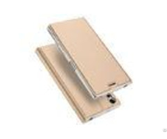 Smooth Magnets Sony Phone Covers Xz Tpu Pu Leather Card Slot Involved
