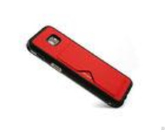 Shockproof Samsung Cell Phone Covers A5 Card Holder Red Slip Resistant