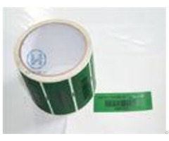 Multi Colors Printing Self Adhesive Security Labels For Many Printer