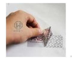 Gloosy Silver Printed Packing Tape Duty Free Label For Industrial