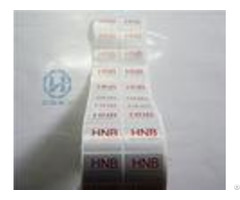 Anti Proof Stop Void Tamper Evident Security Labels Hot Stamping Stickers