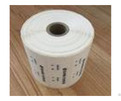 Digital Number Security Void Tape 1000pcs Per Roll For Product Boxes