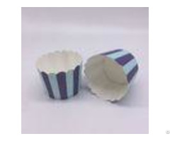 Disposable Baking Cupcakes Paper Cups Striped Cupcake Wrapperscustomized Pattern