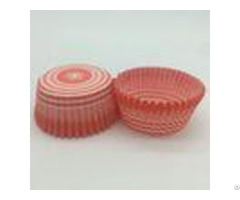Decorative Red And White Striped Cupcake Liners Muffin Baking Cups Jumbo Tool