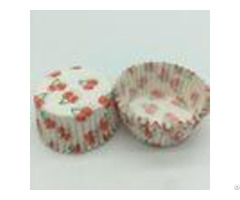 Cherry Pattern Greaseless Cupcake Liners Muffin Cake Paper Cups For Children Party