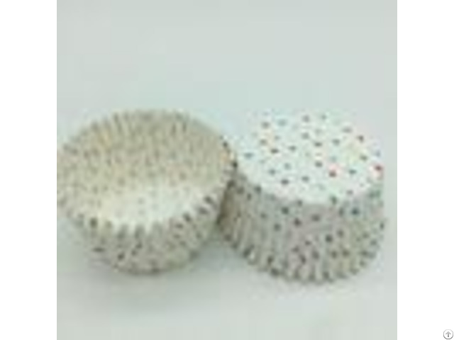 Eco Friendly Greaseproof Cupcake Liners Disposable Food Packaging Bakery Birthday Cakes For Girls