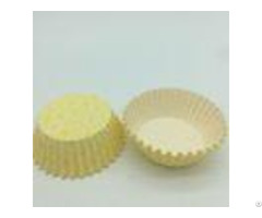Yellow Cwedding Cupcake Holders Greaseproof Paper Muffin Cases Cups Wrappers