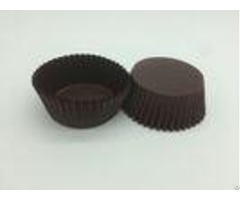 Oversized Dark Brown Cupcake Liners Greaseproof Paper Baking Cups Cake Carrier