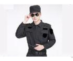 Formal Collar Security Dress Uniform Velcro Opening And Closing Chest Bag Design