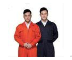 High Visibility Flame Retardant Insulated Coveralls With 80% Polyester 20% Cotton