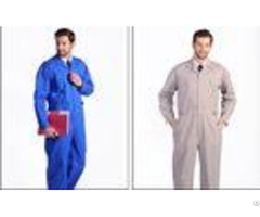 Anti Static Flame Retardant Insulated Coveralls Oil Resistant For Gas Station