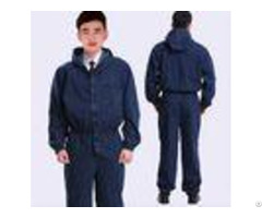 Cotton Flame Retardant Insulated Coveralls Acidproof Fire Protective Clothing