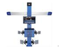 T258 Four Tire Computerized Wheel Aligner Two Cameras High Accuracy 3d 3excel