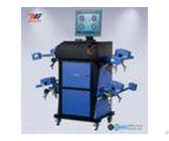 Wide Angle Blue Ccd Wheel Aligner Automatic Machine With Wireless Communication System