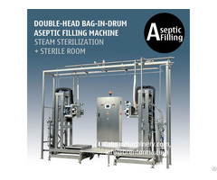 Doublehead Bags Filling System 200 Litre Bag In Drum Aseptic Filler