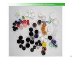 Flip Top Plastic Screw Caps Diameter 13 5mm 40mm Non Spill For Empty Cosmetic Tubes