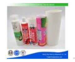 Abl Flexible Empty Cosmetic Bottles Plastic Laminated Tube 5ml 400ml Volume With Screw Cap