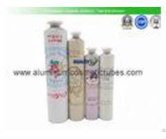 High End Empty Ointment Tubes Luxury Custom Logo Aluminium Toothpaste Tube