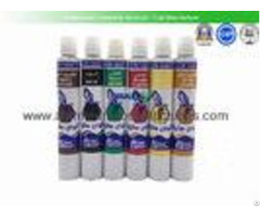 Waterproof Aluminum Paint Tubes Silk Screen Printing Non Reactive Nature