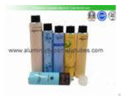 Body Lotion Aluminum Cosmetic Tubes 100ml Volume 175mm Length Eco Friendly