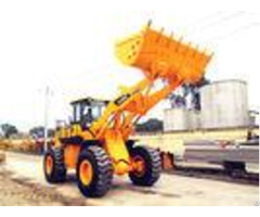Chinese Heavy Machinery 5 Ton Front End Loader With Optional Joystick Control And Air Conditioner
