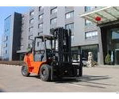 Dual Fuel Hydraulic Gasoline Forklift Truck 3 Stage Mast 200mm Ground Clearance