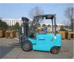 Fb30 3 Ton Four Wheel Electric Forklift Truck For Loading And Unloading Cargo