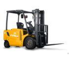 Material Handling 5 Ton Electric Forklift Truck Battery Operated 1 Year Warranty